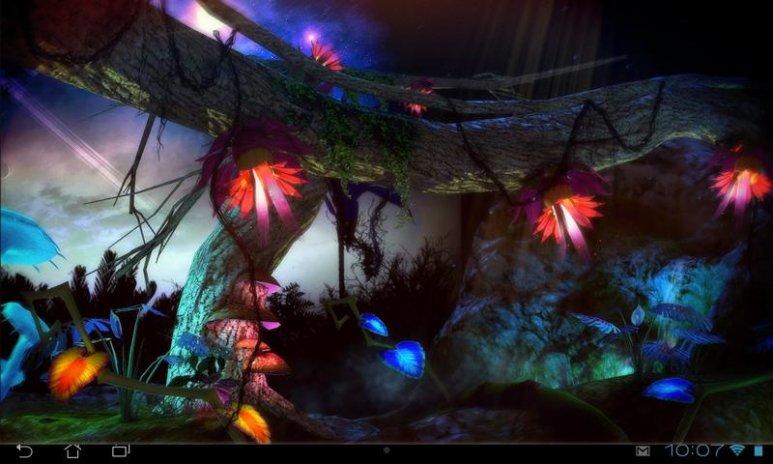Alien Jungle 3d Live Wallpaper Screenshot 6