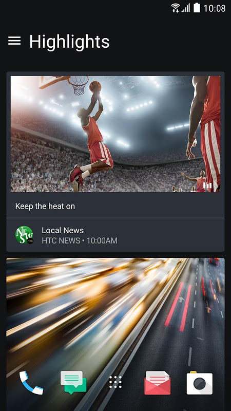 HTC Sense Home screenshot 2