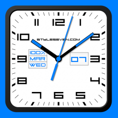 Square Analog Clock-7 2 0 Download APK for Android - Aptoide