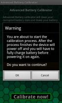 Advanced Battery Calibrator Screenshot