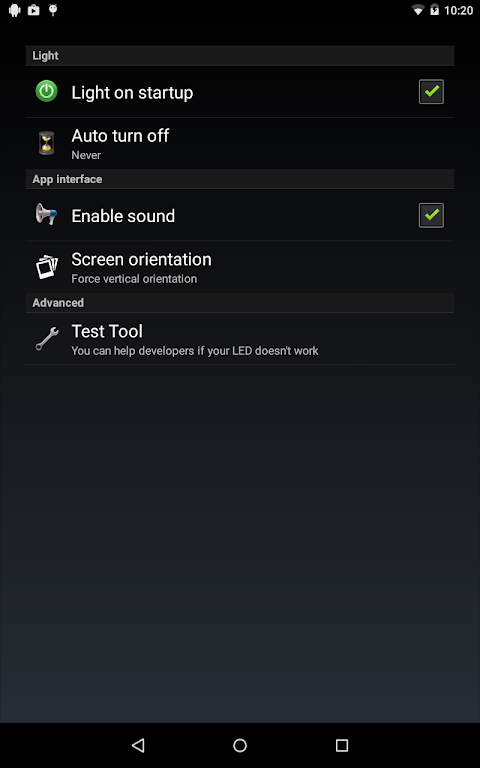 Torch Flashlight LED HD screenshot 10
