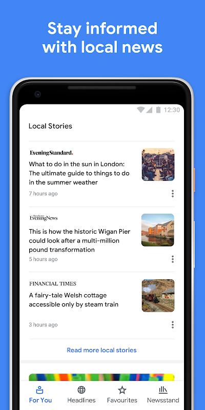 Google Play Newsstand screenshot 4