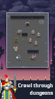 Dunidle - Incremental RPG Dungeon Crawler screenshot 1