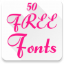 fonts for flipfont 50 6 icon