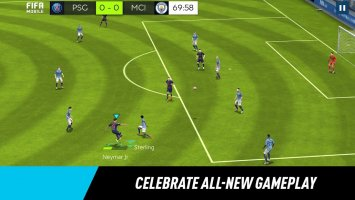 FIFA Mobile Football Screen