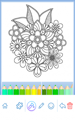 Coloring Book For Adults Screenshot 10