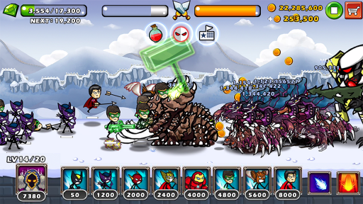 HERO WARS: Super Stickman Defense screenshot 7