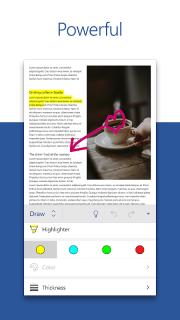 Microsoft Word: Write and edit docs on the go screenshot 2