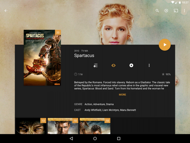 Plex: Stream Movies, Shows, Music, and other Media screenshot 3