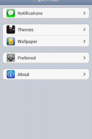 Espier Launcher Pro Screenshot