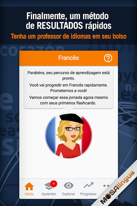 Aprender Francês - MosaLingua screenshot 1