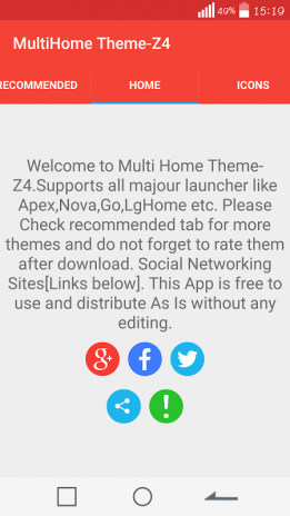 Theme for MultiHome- Z4 1 0 Download APK for Android - Aptoide