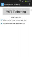 WiFi Tethering /WiFi HotSpot Screen