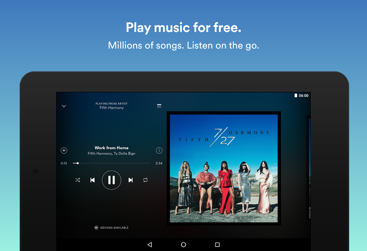 Spotify: Free Music Streaming screenshot 1