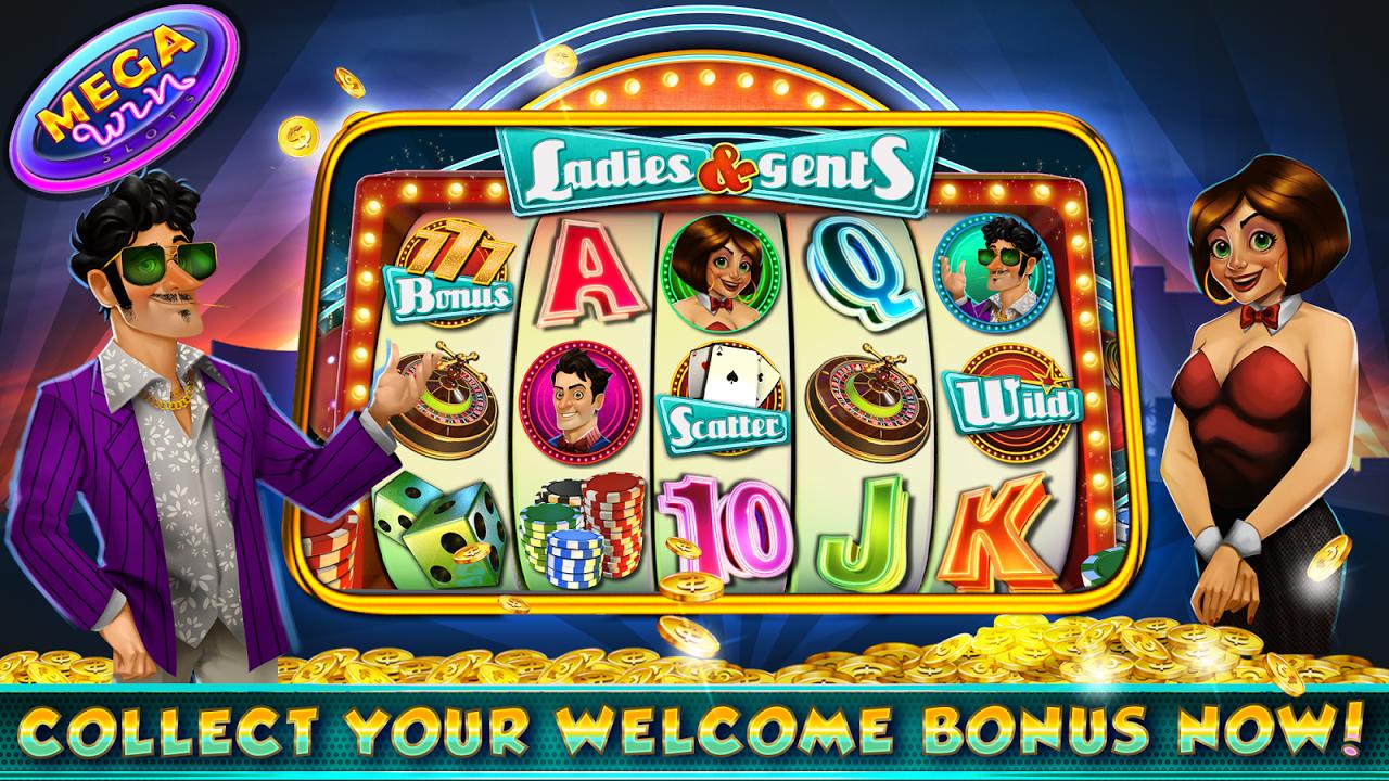 Free casino mega slots bet it on