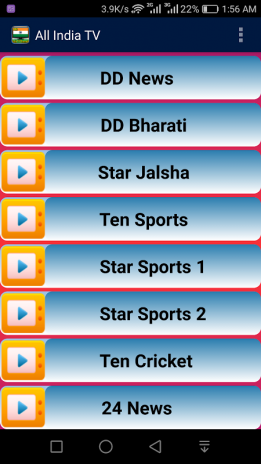 Live Indian TV All Channels 1 3 Download APK for Android