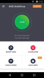 AVG AntiVirus FREE for Android Security 2017 screenshot 1