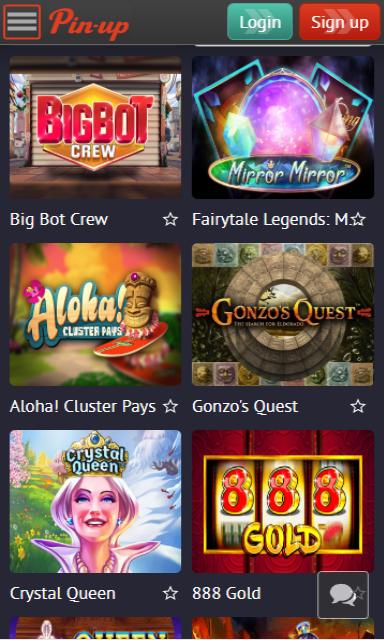 pin-up - casino screenshot 2