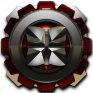 next launcher theme red magnet icon
