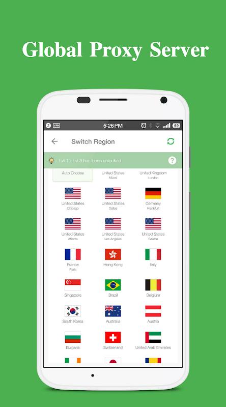 Yoga VPN - Free Unlimited & Secure Proxy & Unblock screenshot 2