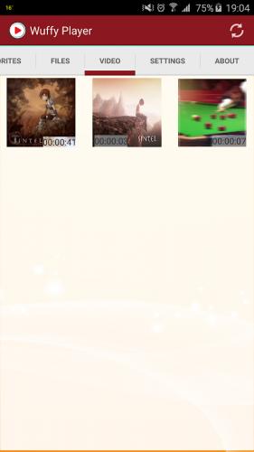 Wuffy Media Player screenshot 6