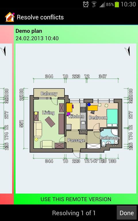 ... Floor Plan Creator Screenshot 4 ...