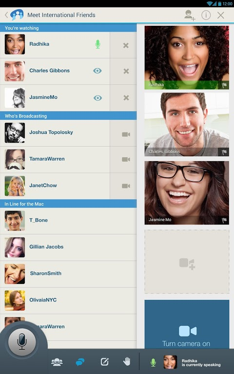 Paltalk for Android Phone Features: