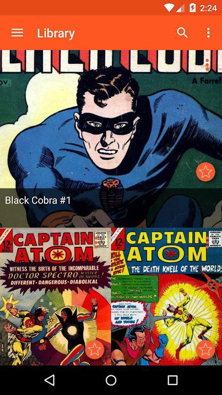 Astonishing Comic Reader screenshot 2
