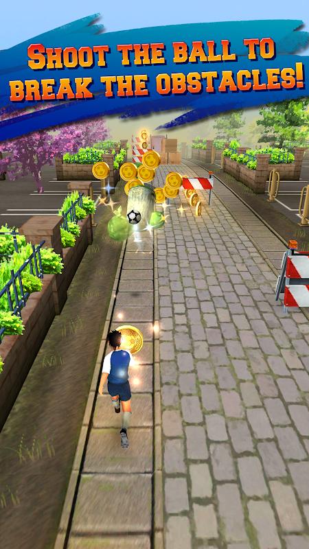 Soccer Runner: Football rush! screenshot 2