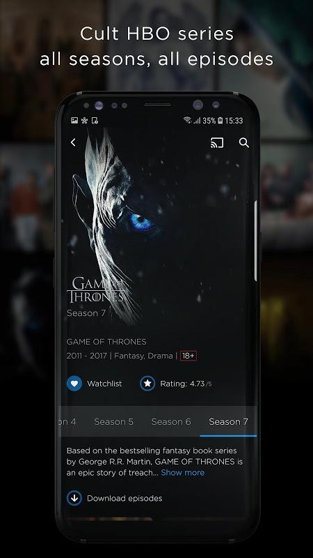 HBO Portugal screenshot 2