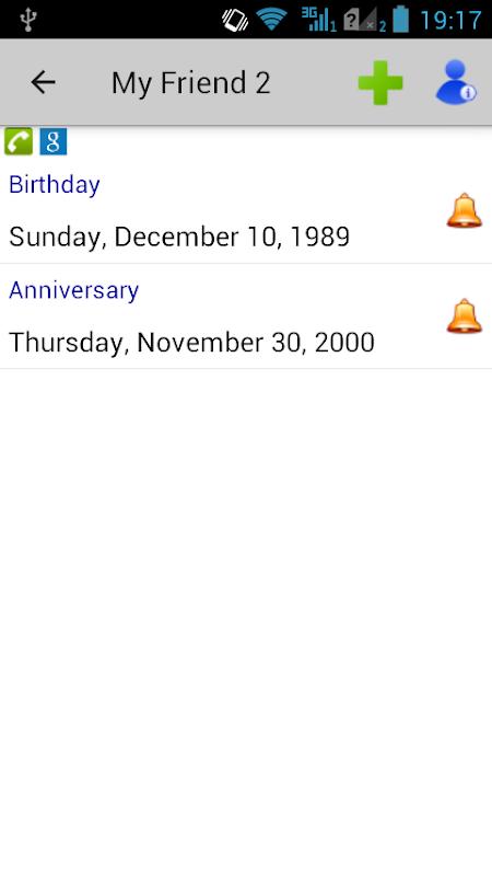 Birthdays & Other Events screenshot 2
