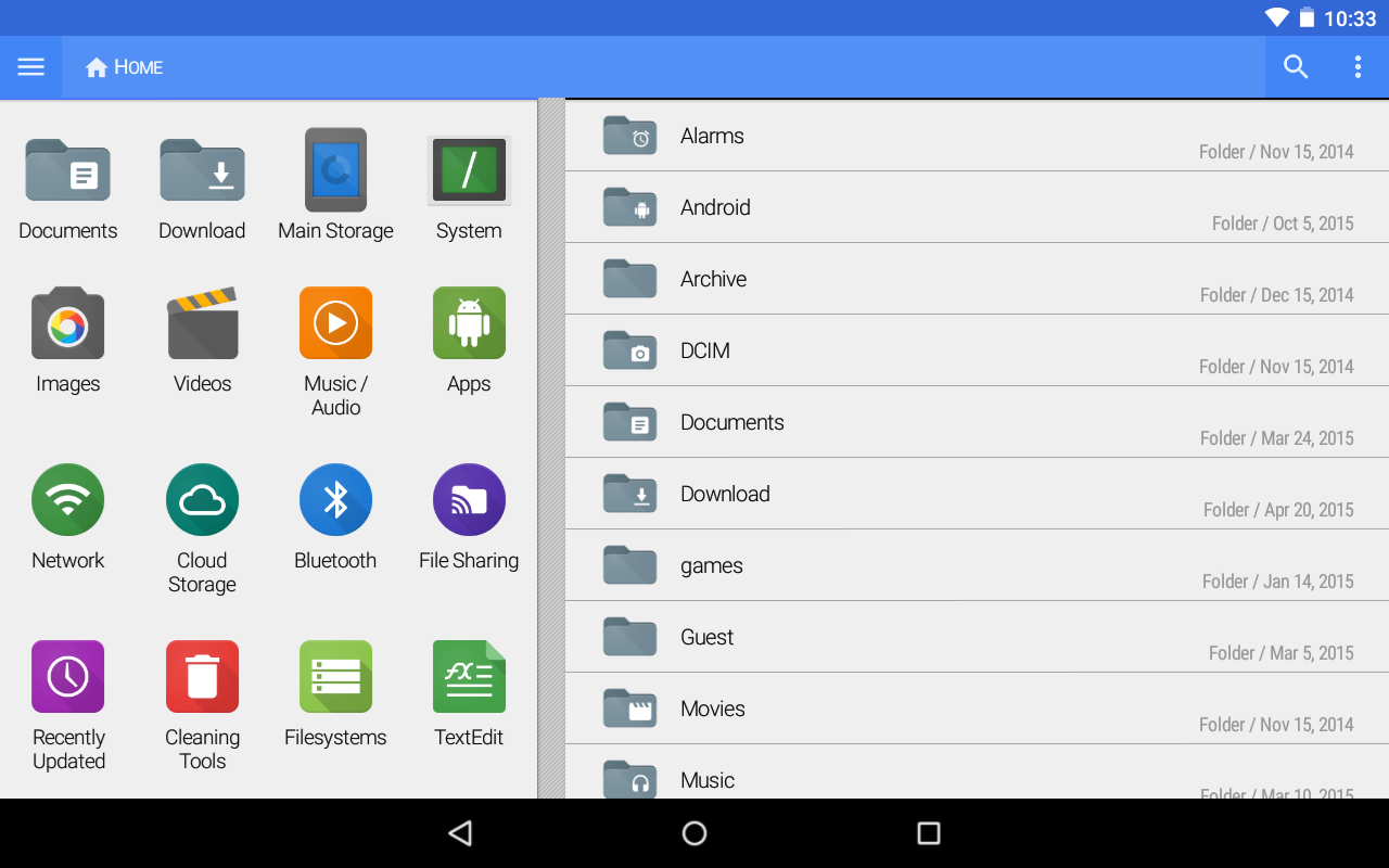 FX File Explorer screenshot 1