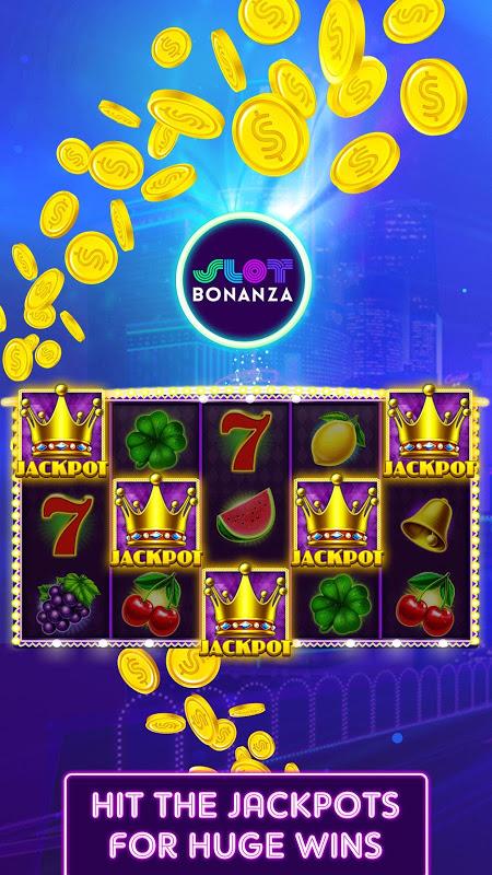 Slot Bonanza – Jogos de casino grátis screenshot 1
