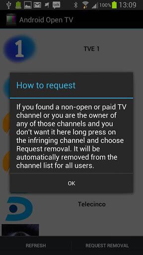 Android TV En Abierto Screenshot