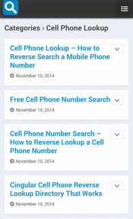 Reverse Phone Lookup 1 0 Download APK for Android - Aptoide