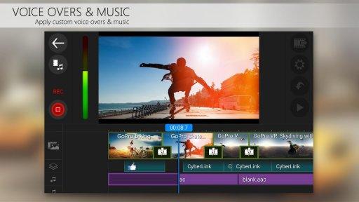 PowerDirector Video Editor App: 4K, Slow Mo & More screenshot 5