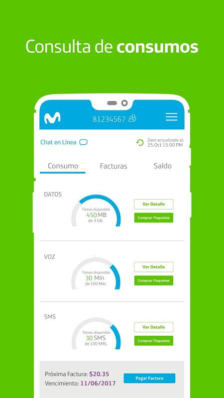 Mi Movistar - Gestión de líneas, pagos y recargas screenshot 1