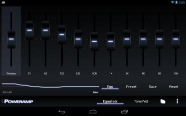 poweramp music player trial screenshot 11