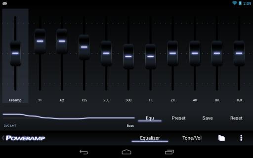 Poweramp screenshot 9