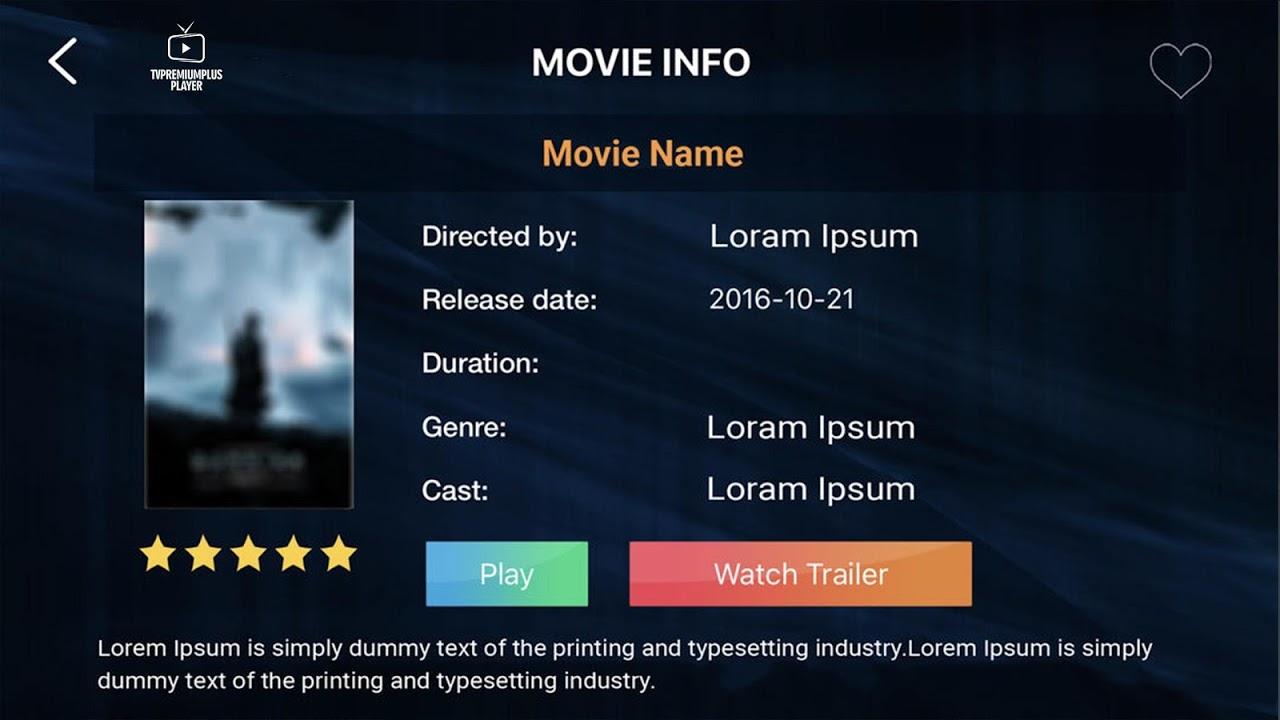 TV Premium Plus Player screenshot 6