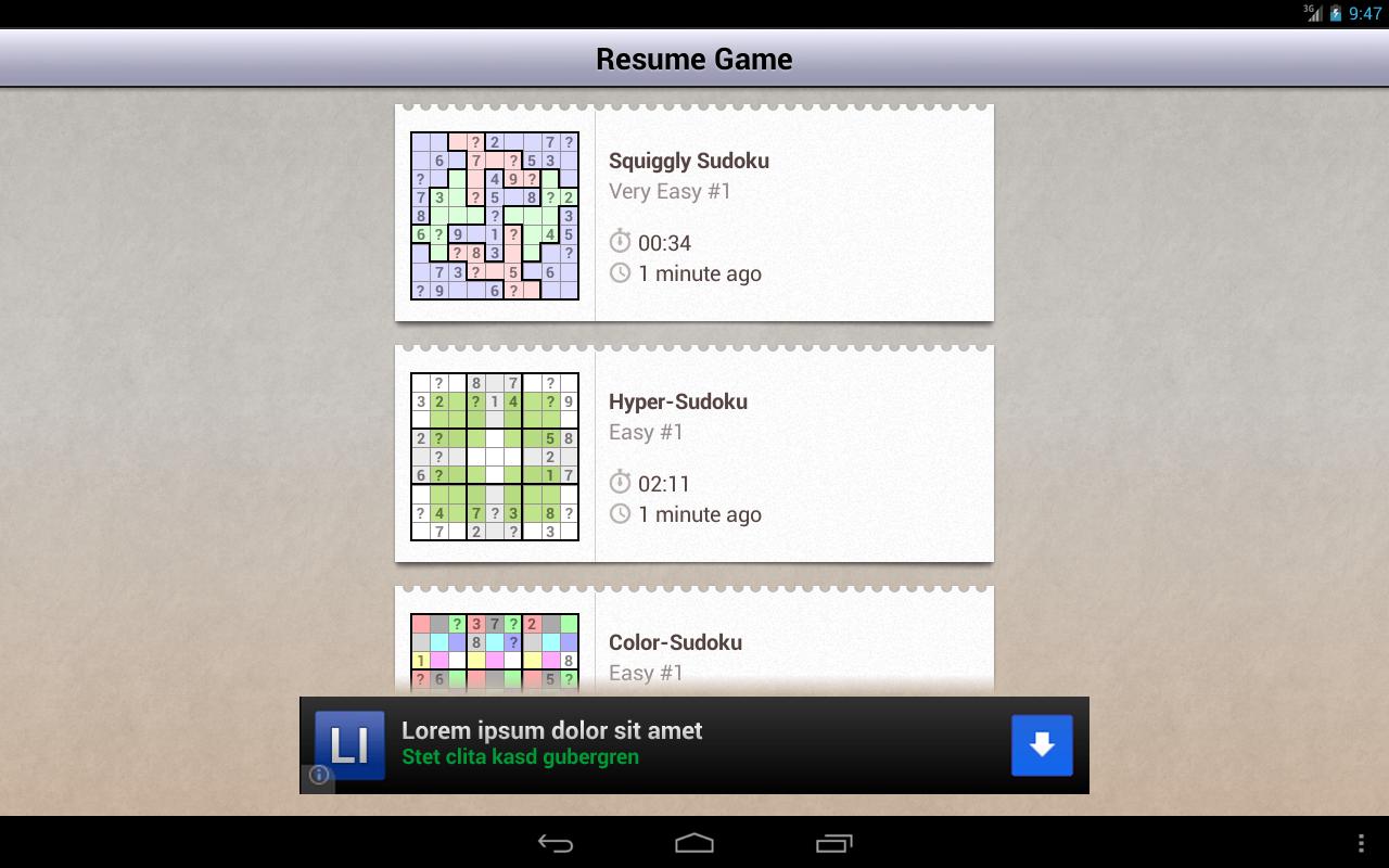 andoku sudoku 2 free 3 3 0 download