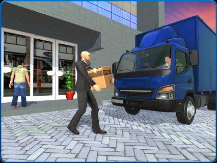 Bank Cash-in-transit Security Van Simulator 2018 screenshot 11