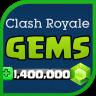Gems for Clash Royale 💎 Prank Ikon