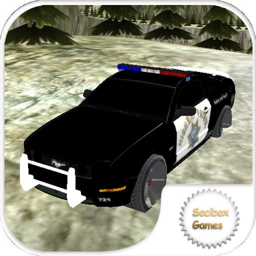 polícia perseguição de carros