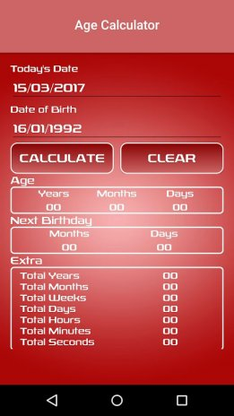Age Calculator 1 2 Download APK for Android - Aptoide