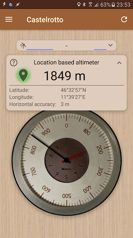altimetre precis