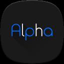 Alpha Substratum Theme For LG V30, G6, G7 Oreo