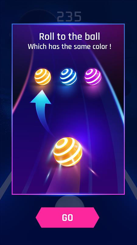 Dancing Road: Colour Ball Run! screenshot 1