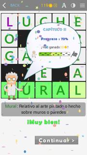 Crosswords - Spanish version (Crucigramas) screenshot 8