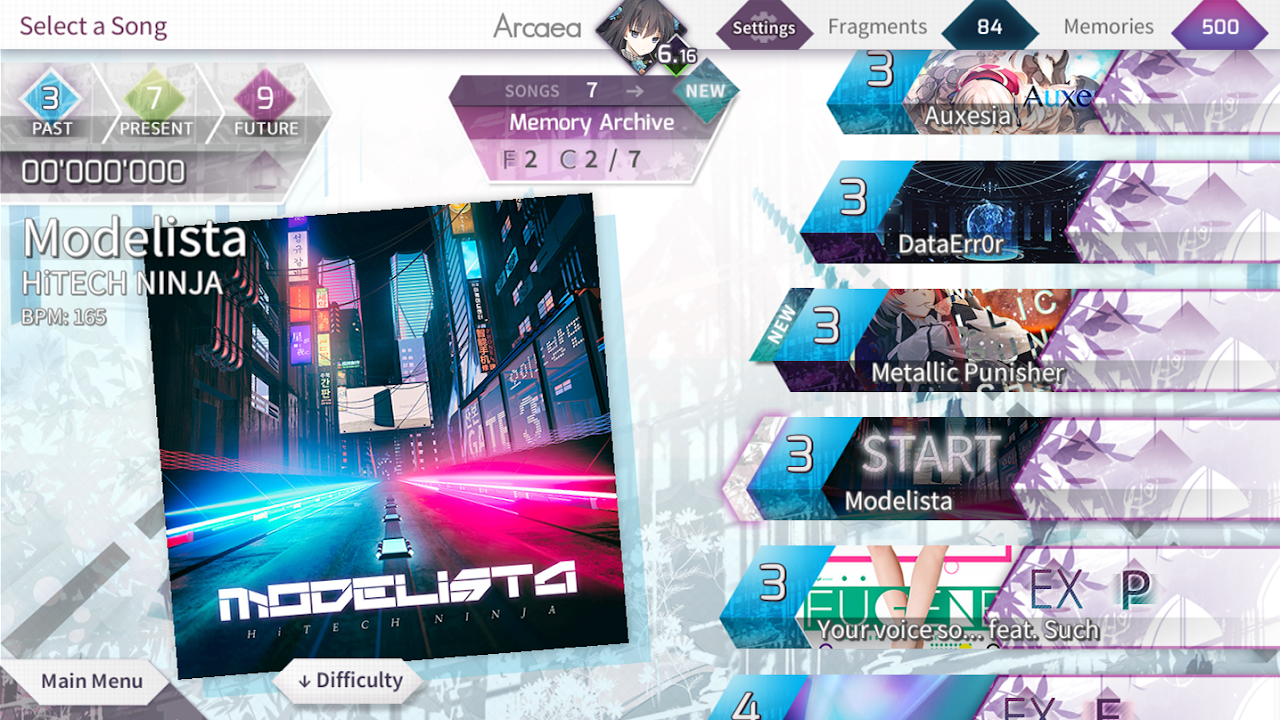Arcaea - New Dimension Rhythm Game screenshot 8